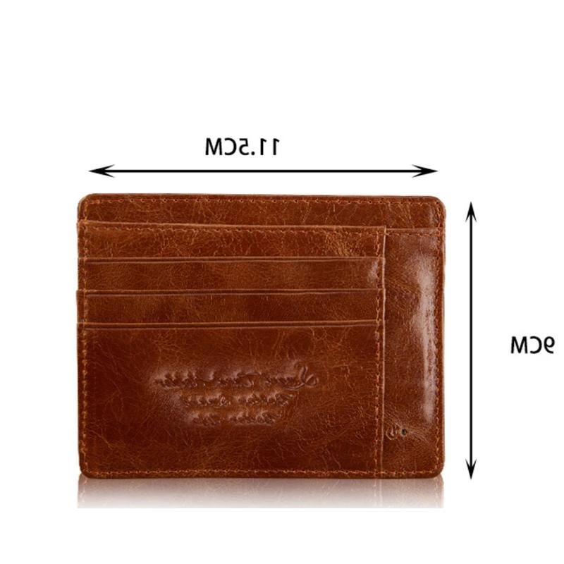 Anti-Theft and Enabled Wallet Genuine Leather.