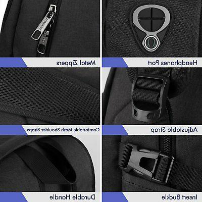 Anti-theft Travel Backpack Business Laptop Book with USB Charger