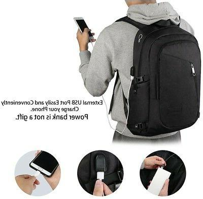 Anti-theft Backpack Business Laptop School Bag with USB