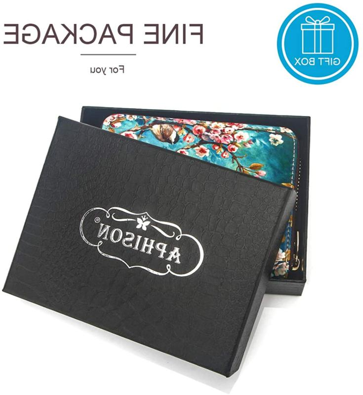 APHISON Credit Card Travel Leather