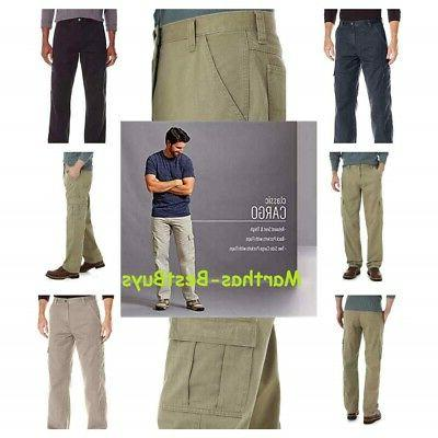 authentics men s classic twill relaxed fit