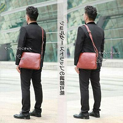 Banuce shoulder bag men's messenger bag leather bag diagonall