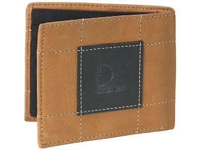 bifold passcase id wallet full grain brown