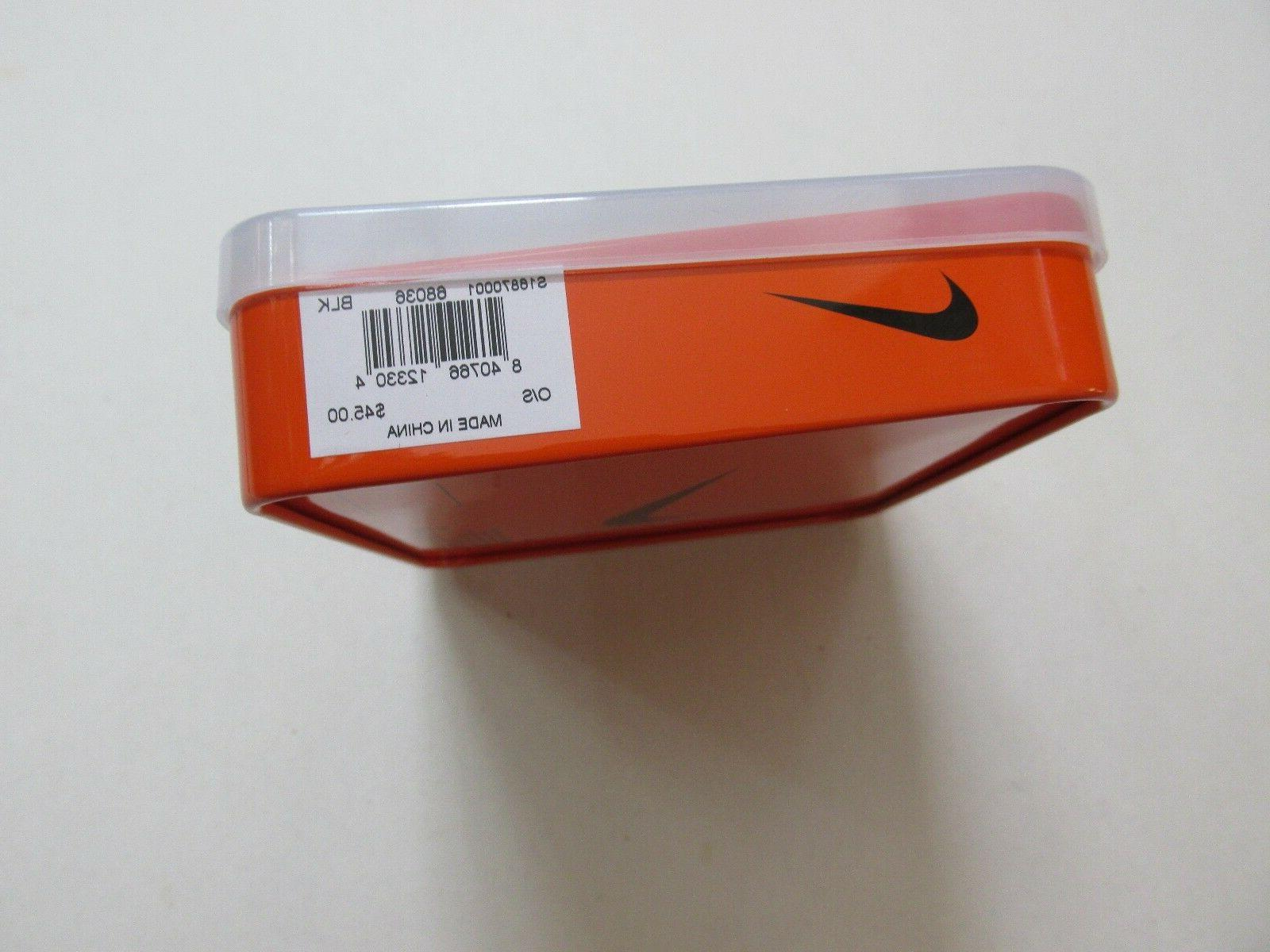 NIKE GOLF MEN'S TEXTURED LEATHER WALLET NEW GIFT BOX