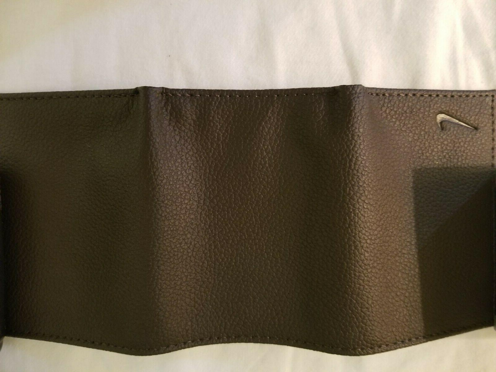 Nike brand Dark Brown Trifold Wallet