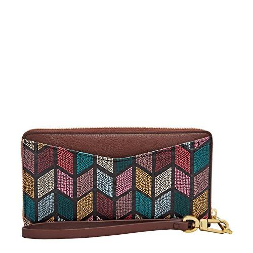 caroline rfid zip around wallet fall multi