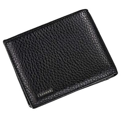 classic top grains leather bifold wallet
