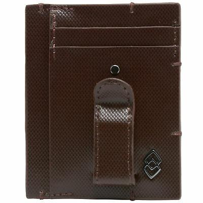 Alpine Swiss Mens Minimalist Pocket