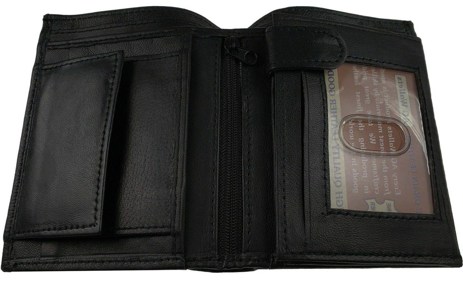 AG Mens Trifold Black