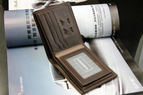Fashion Men's Bifold Leather Wallet Credit Card Holder