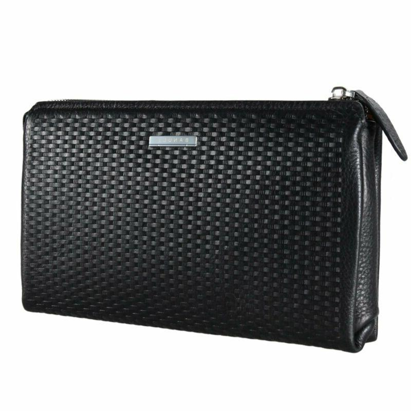 Banuce Genuine Clutch Bag For Large Capacity Wallet C