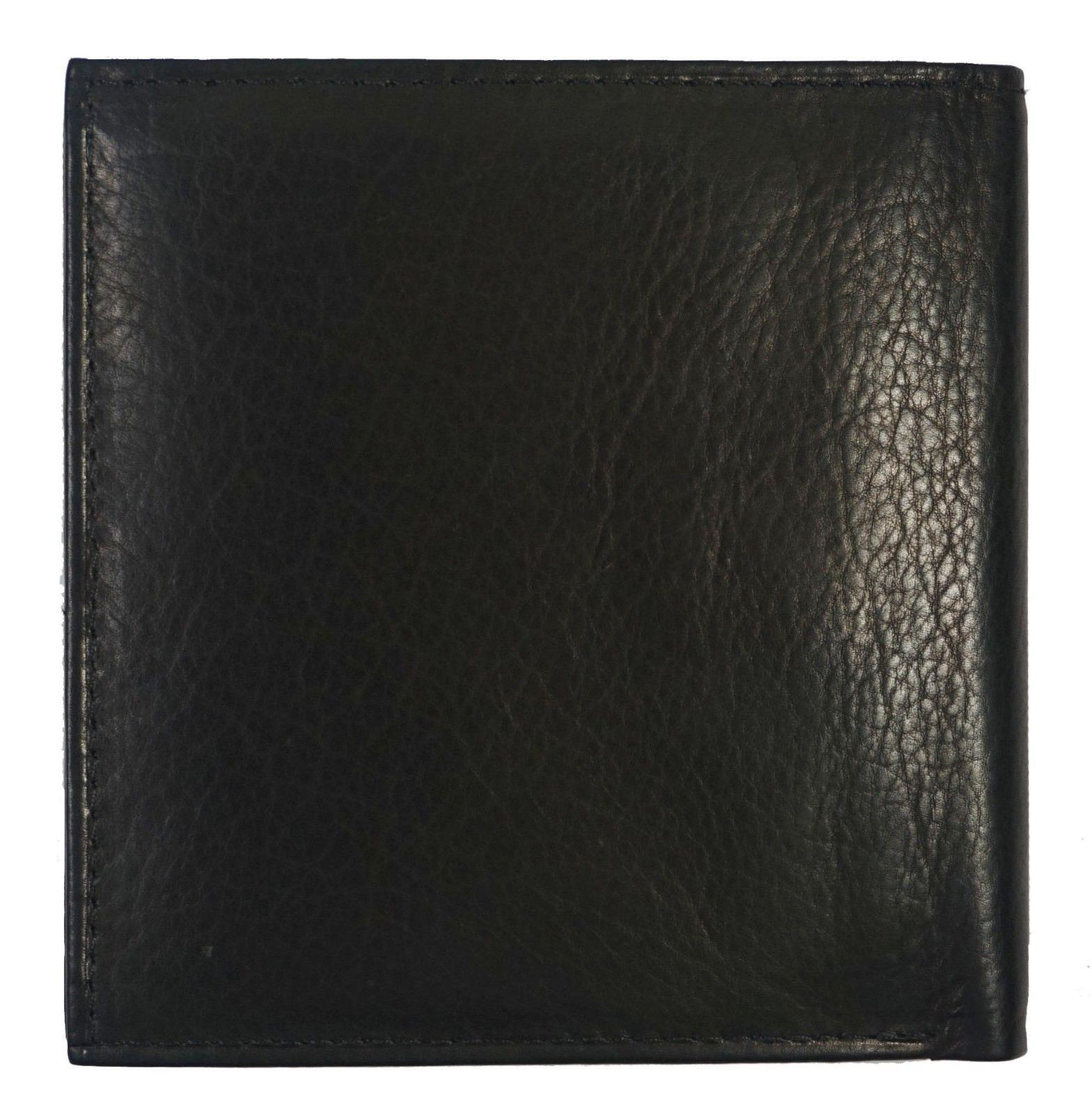 Genuine Bifold 2 Double Flap Popular Brown