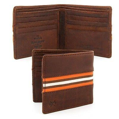 genuine leather mens wallet by clearance rrp