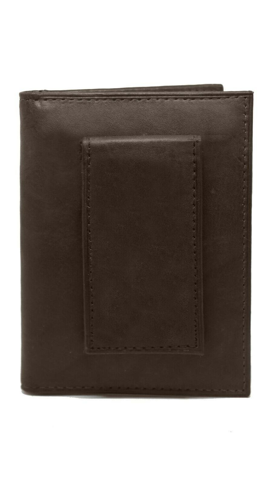 Mens Clip Slim Brown Holder