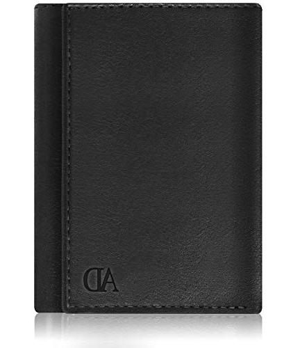 Genuine Men - Mens Wallet With ID RFID Blocking,Smooth