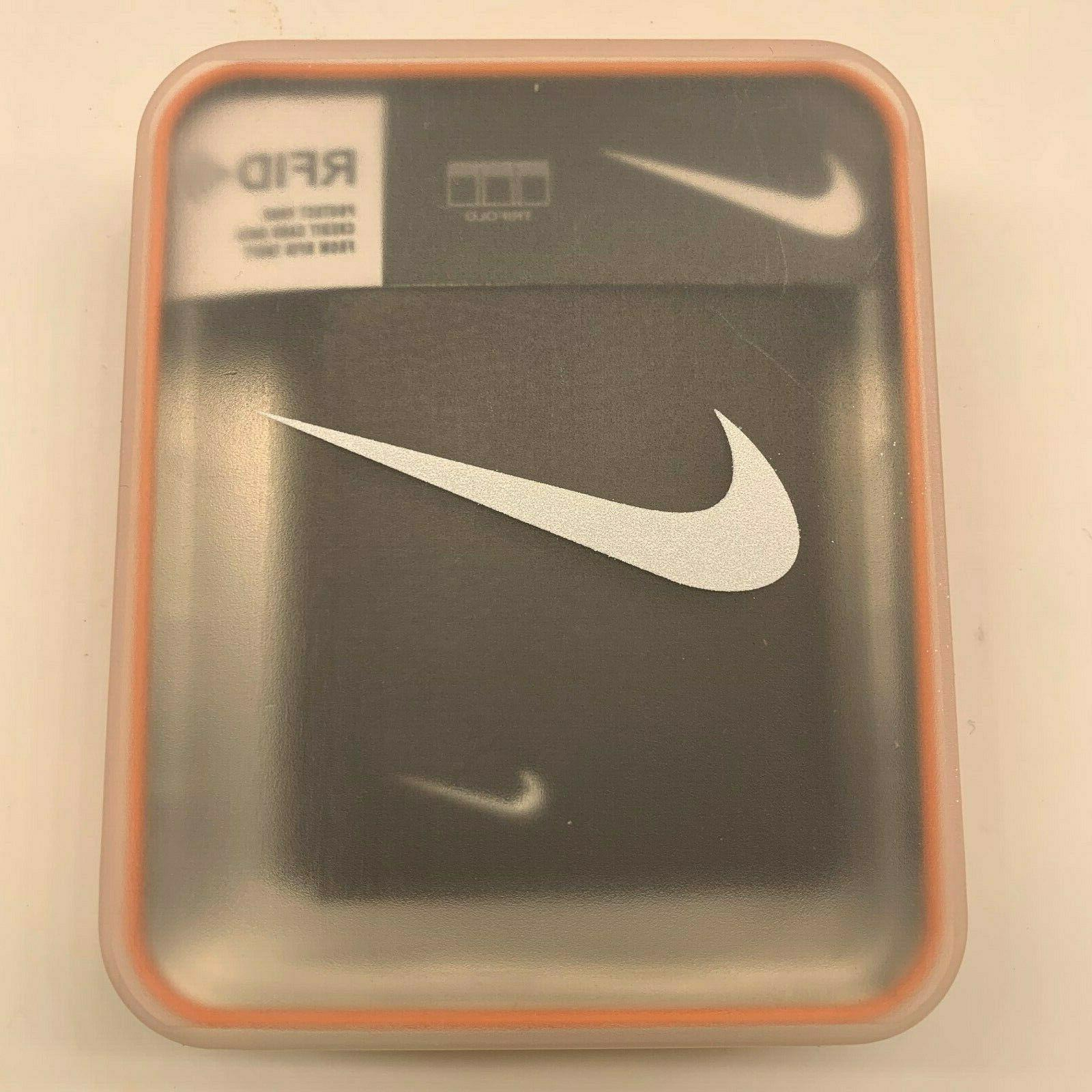 NIKE GOLF TRIFOLD PREMIUM PEBBLE GENUINE