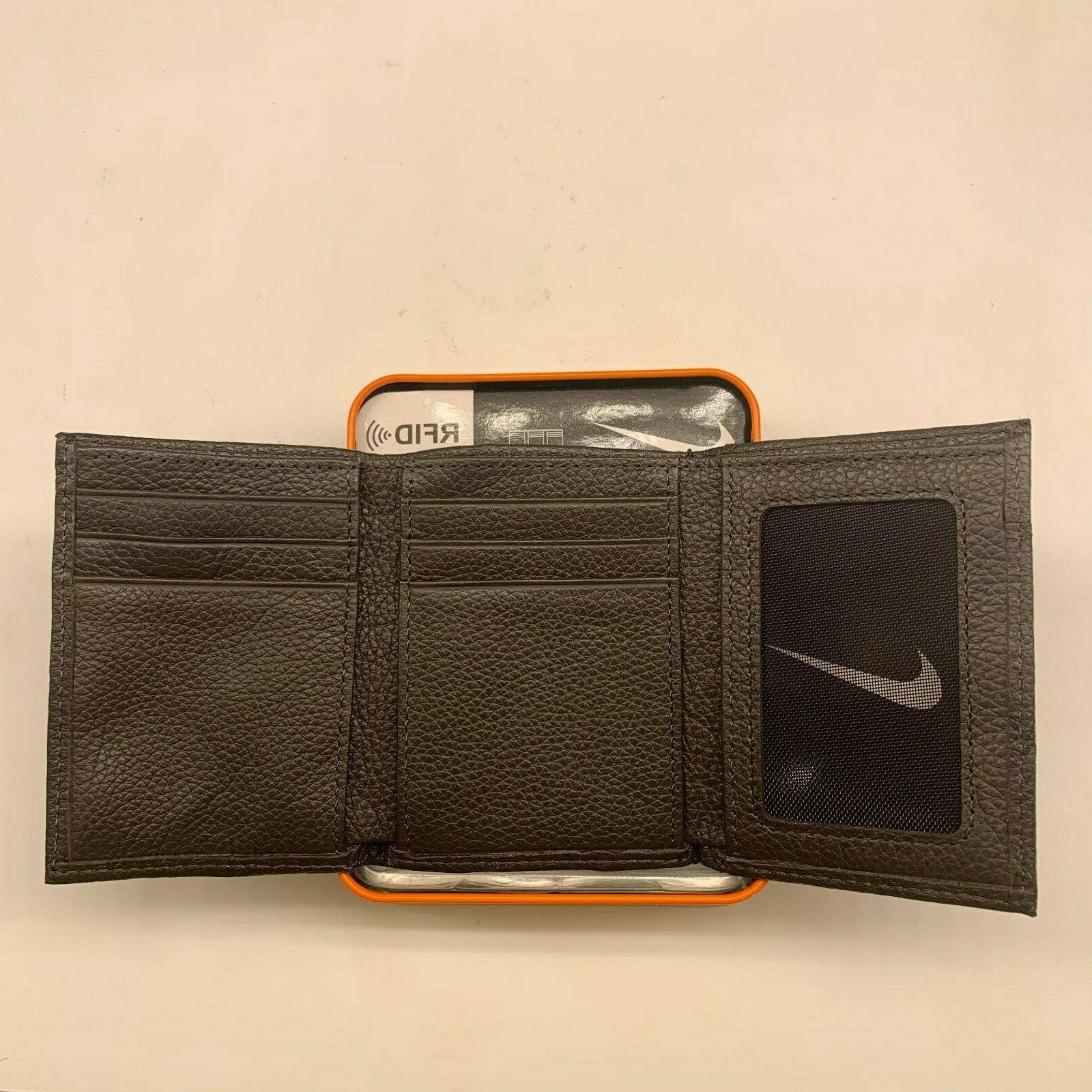 NIKE GOLF TRIFOLD PEBBLE GENUINE