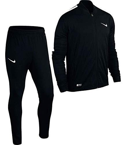 junior academy 16 knit tracksuit youth black