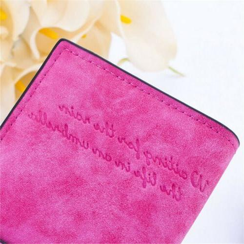 Lady Leather Clutch Wallet Purse Long Card Holder US Stock