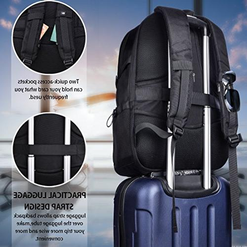 Laptop Backpack 17.3 Inch Travel Waterproof Backpack Business College Large Capacity Laptop USB for Men Women