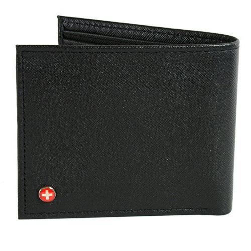 leather bifold wallet coin pocket
