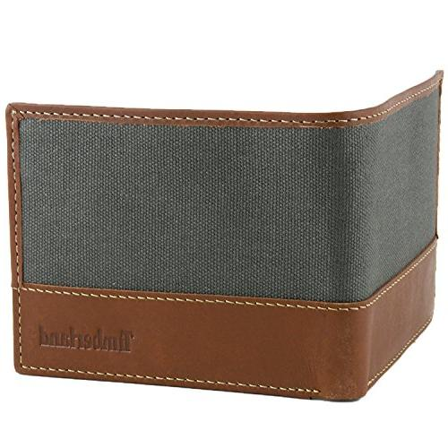Timberland Canvas Passcase, Charcoal, One