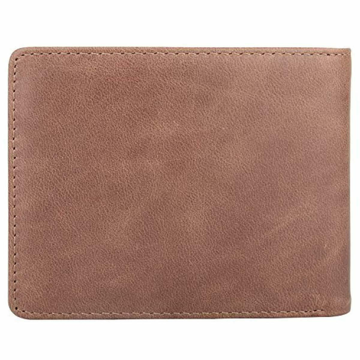 HIMI Leather Soft, RFID Blocking Card Slot Coffee