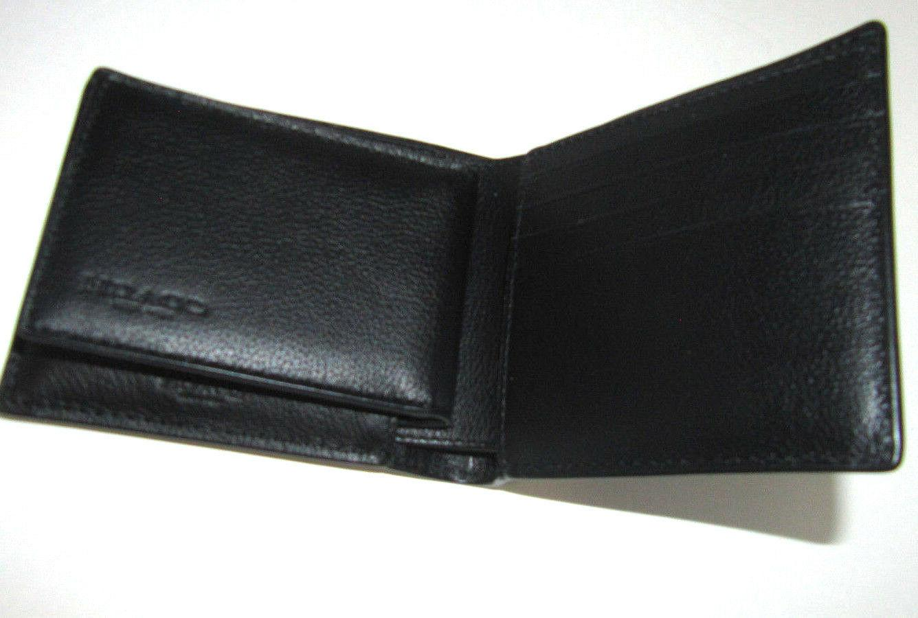 Coach Sport Calf Black Leather Wallet 178