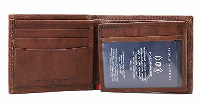 Tommy Hilfiger Men's Capacity Leather Wallet 31TL240006