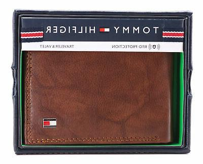 Tommy Men's Capacity Traveler Wallet