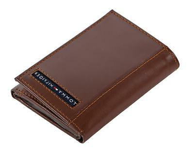 Tommy Mens Trifold Wallet with Card Holder