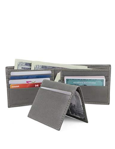 Blocking Wallet, Charcoal, Size