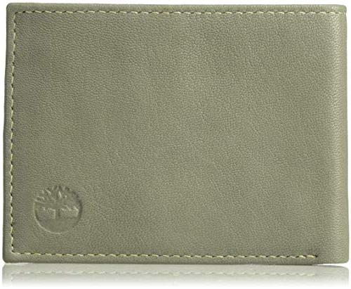 men s leather rfid blocking passcase security