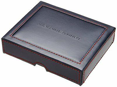 Tommy Mens Leather Cambridge Trifold Wallet Removal