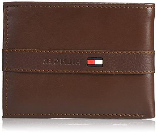 men s leather wallet thin casual passcase