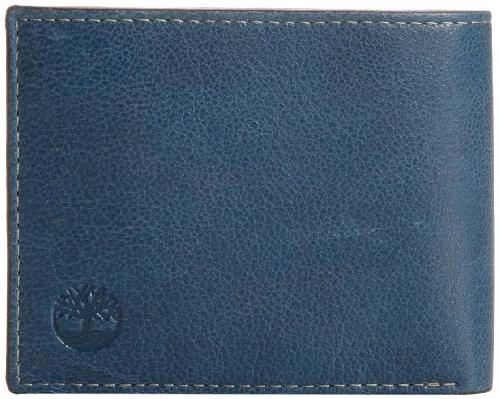 men s leather wallet with attached flip