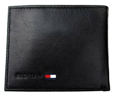 Tommy Men's Premium Leather Id Coin