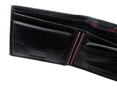 Tommy Premium Leather Id Coin Wallet