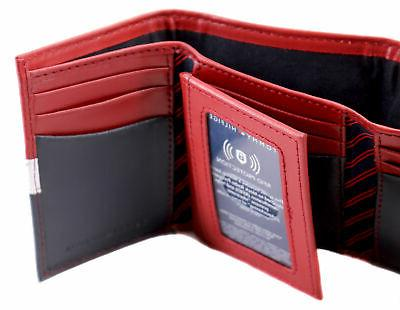 Tommy Leather Wallet Red