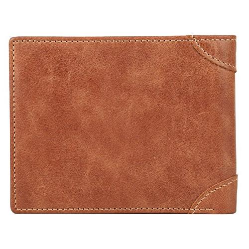 Men's - RFID Blocking Trifold Wallet
