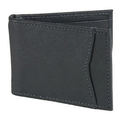 Alpine Bifold Money Clip Leather ID Front Wallet