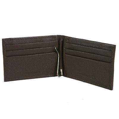 Alpine Money Clip Leather ID Front Wallet