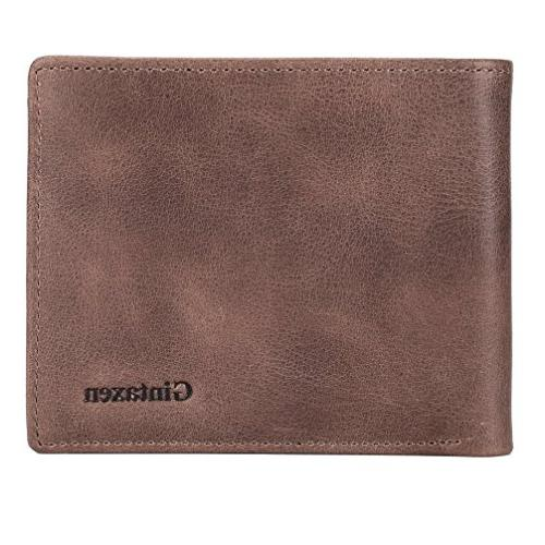 Mens Wallet with 2 Window RFID Blocking -