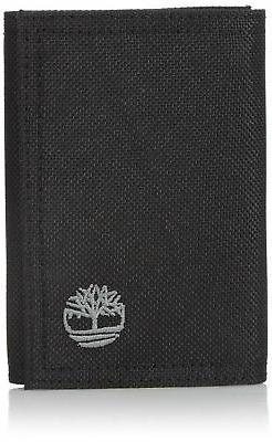 Timberland Men's Nylon Trifold Wallet with ID Window