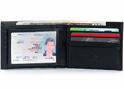Alpine Swiss Mens RFID Blocking Card Capacity