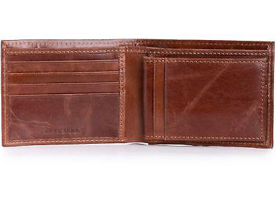 Alpine Swiss RFID Blocking Leather Wallet Card High