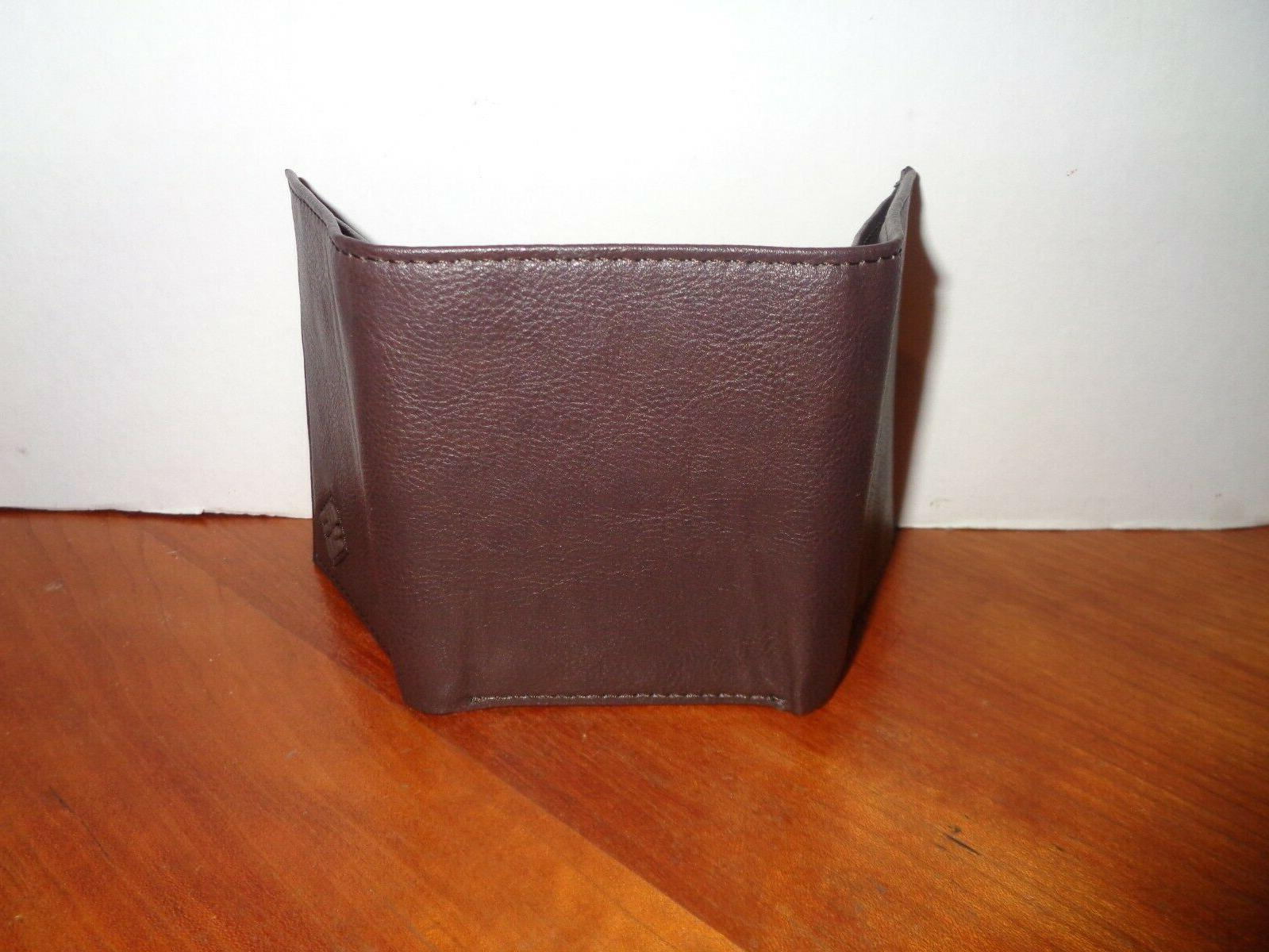 COLUMBIA Security Wallet Brown Gift