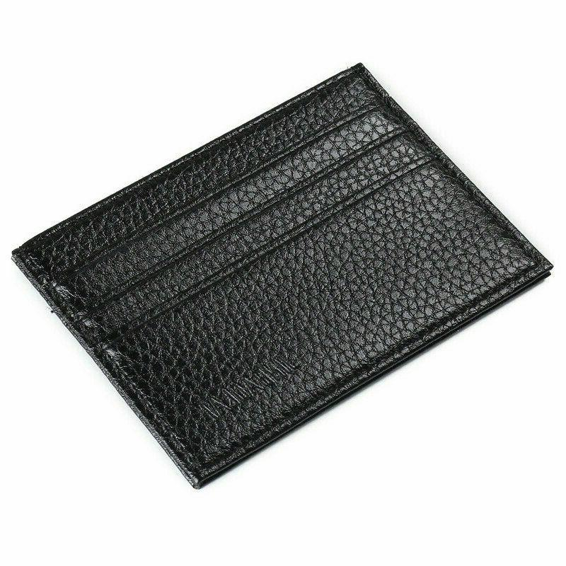Mens Card Holder Wallets ID Thin