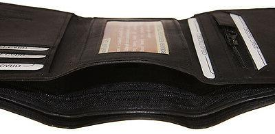 AG Leather Credit Holder Zipper