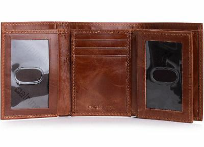 Alpine Mens Wallet Extra Capacity Multiple Card Slots 2 ID Windows